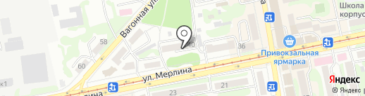 Арида на карте Бийска