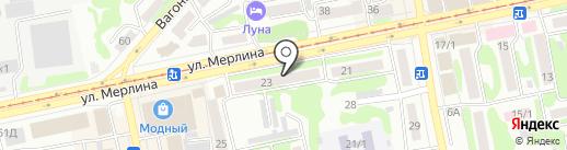 TianDe на карте Бийска