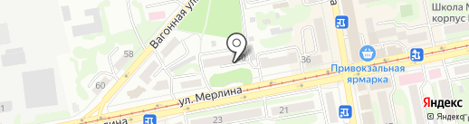 Стиль на карте Бийска