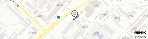 аЭРОпорт на карте Бийска