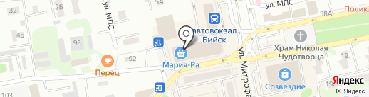 Romantic на карте Бийска