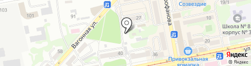 Голден Фиш на карте Бийска