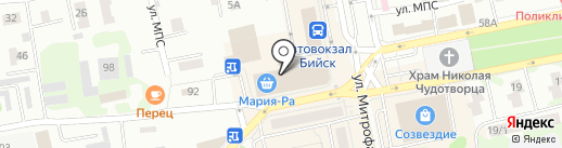 Bellissimo на карте Бийска