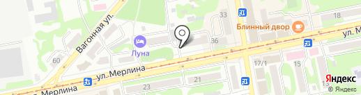 Шелковый путь на карте Бийска