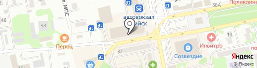Алеся на карте Бийска
