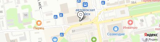 Российское золото на карте Бийска