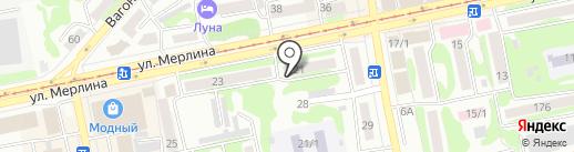 Национальная почтовая служба, ЗАО на карте Бийска