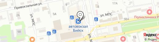 Салон сотовой связи на карте Бийска