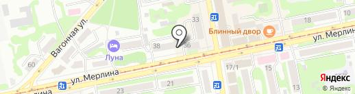 Euroshoes на карте Бийска