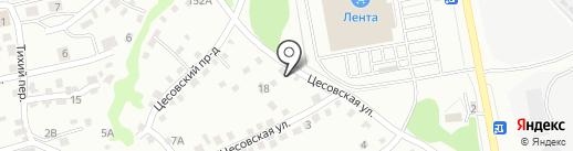 Центр авторазбора и продажи контрактных запчастей на карте Бийска
