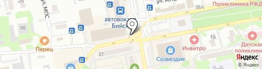 ШАУРМАНИЯ на карте Бийска