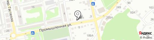 Бэби Бийск на карте Бийска