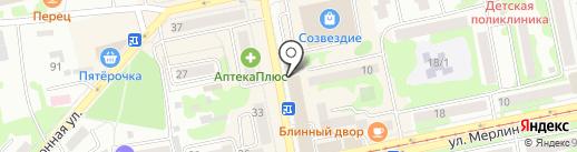 Магазин спецодежды и камуфляжа на карте Бийска