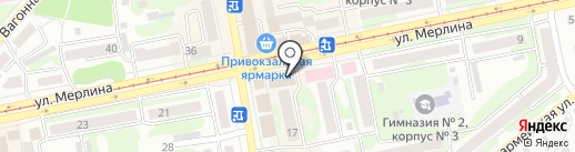 Банкомат, Почта банк, ПАО на карте Бийска