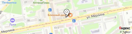 Магазин пряжи и фурнитуры на карте Бийска
