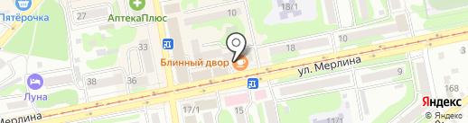 Алла на карте Бийска