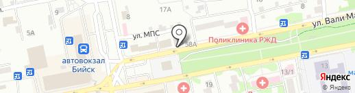 Мастерская по ремонту одежды на карте Бийска