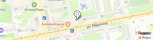 РЭП №6 на карте Бийска