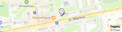 Эвелин на карте Бийска