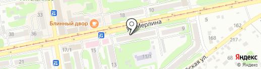 ЕвроАвто на карте Бийска