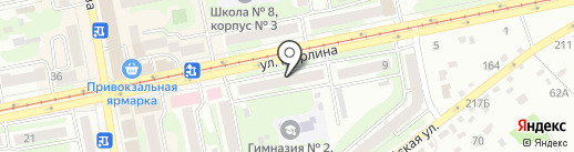 СемьЯ на карте Бийска
