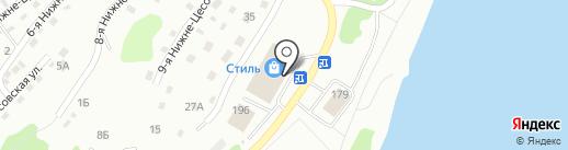 М-52 на карте Бийска