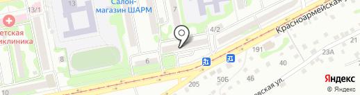 Лира на карте Бийска