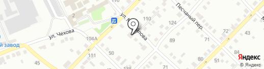 Мит на карте Бийска