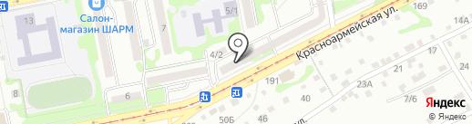 Печати5 на карте Бийска