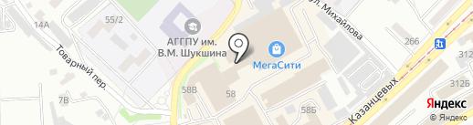 Комфорт на карте Бийска