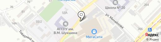 ХИМСНАБ на карте Бийска