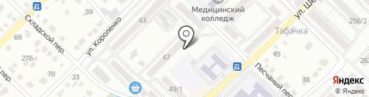 Корзинка Михайловых-15 на карте Бийска
