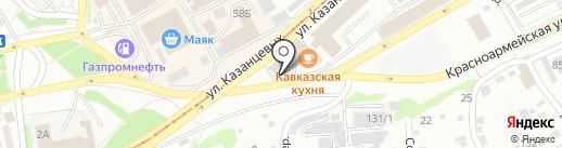 S-car на карте Бийска