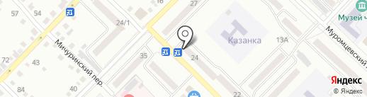 Почтовое отделение №33 на карте Бийска