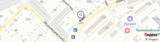 Управление ветеринарии по г. Бийску и Бийскому району на карте Бийска