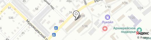 Дымов А.С. на карте Бийска