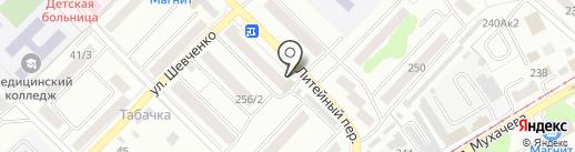Автодеталь на карте Бийска