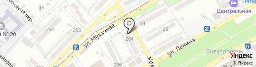 Хмельная бочка на карте Бийска