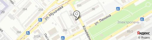 Нотариус Абашева Р.М. на карте Бийска