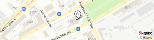 Сбербанк, ПАО на карте Бийска
