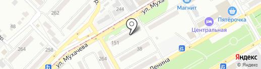 Миг на карте Бийска