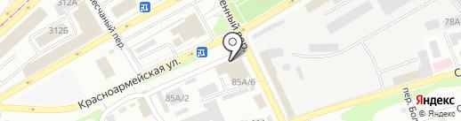 Познание на карте Бийска