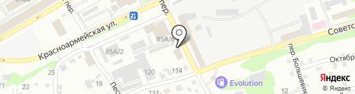 Теплотехник на карте Бийска