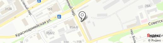 Юрист Кредитный на карте Бийска