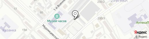 Авторемонтная мастерская на карте Бийска