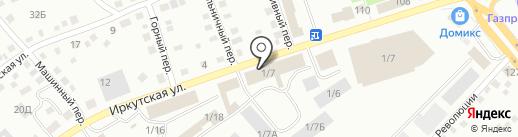 Магазин спецодежды на карте Бийска