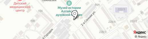 Храм Казанской иконы Божией Матери на карте Бийска