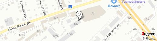 Бивитэкс на карте Бийска