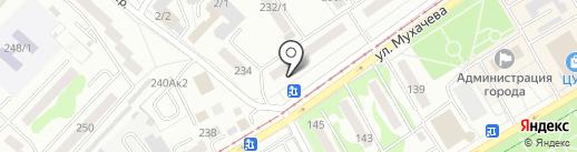 Флёр на карте Бийска