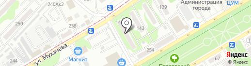 АЙВЭКС на карте Бийска